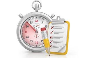 Re-Certification Clip Art of Timer